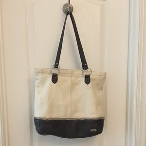 THE SAK BAG BUTTERY SOFT CREAM LEATHER